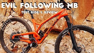 Download 2018 Evil Following MB Test Ride & Review Video