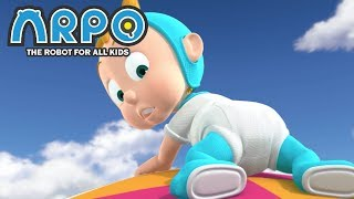 Download ARPO The Robot For All Kids - Flying Baby | Compilation | Cartoon for Kids Video