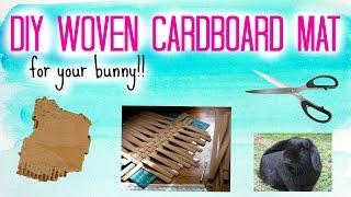 Download Woven Cardboard Mat | DIY Rabbit Toy Video