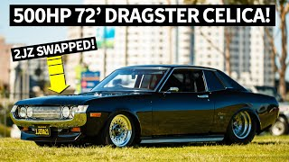 Download JDM Dragster: 2JZ Powered and Tubbed '72 Celica and '78 Cressida Video