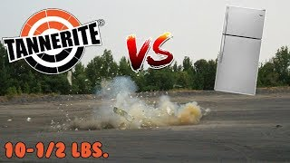 Download 10-1/2 lbs. Of TANNERITE DESTROYS REFRIGERATOR Video
