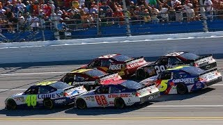 Download 4/17/11 - Talladega - Johnson wins in four by four-wide finish Video