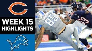 Download Bears vs. Lions | NFL Week 15 Game Highlights Video
