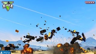 Download GTA 5 Next Gen: BIGGEST EXPLOSIONS!!! w/ Stream Team (PS4) Video
