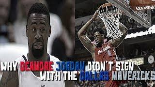 Download The INTERESTING Story of Why DeAndre Jordan Didn't Sign With the Dallas Mavericks in 2015 Video