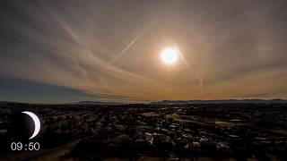 Download 4K Solar Eclipse Timelapse in Iceland 2015 Video
