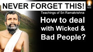 Download How to deal with Negative People who are Toxic and Wicked? (Never Forget This Advice!) Video