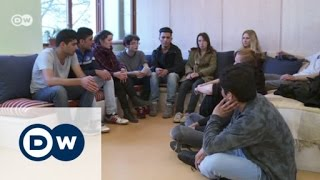Download German students fight for refugee classmates | DW English Video