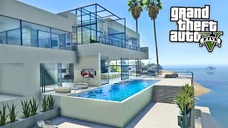 Download GTA 5 Mods - BILLIONAIRES MANSIONS MOD TOUR!! GTA 5 Mansions Mod Gameplay! (GTA 5 Mods Gameplay) Video