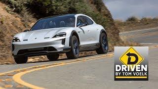 Download Driven! The Porsche Mission E Taycan Cross Turismo Concept Electric Vehicle Video