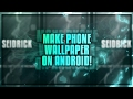 Download How To Make A Sick Phone Wallpaper On Android! | Ps Touch Tutorial [3] Video