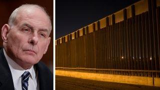Download Kelly says border wall construction may begin this summer Video
