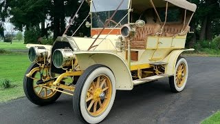 Download 1908 Glide Model G Touring Car - Last One In The World. Charvet Classic Cars Video
