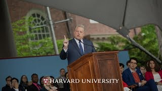 Download Former Vice President Al Gore addresses Harvard Class of 2019 | Harvard Commencement 2019 Video