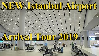 Download NEW Istanbul Airport 2019 Arrival Tour Complete Video