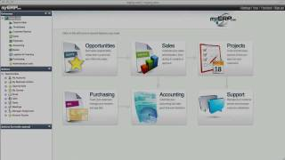 Download myERP - the #1 Cloud ERP for Small Businesses - Online Accounting, CRM, Inventory... Video