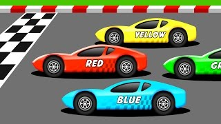 Download Learn the Colors with Racing Cars Video
