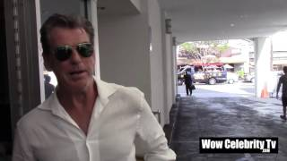 Download Pierce Brosnan spotted in Beverly Hills Video