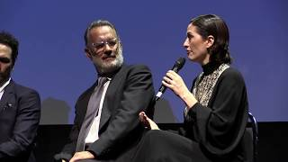 Download A Beautiful Day in the Neighborhood TIFF Premiere Q&A with Tom Hanks and Marielle Heller Video