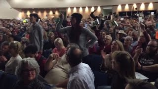 Download Tempers flare at Republican town halls Video