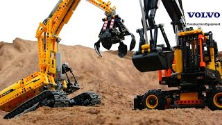 Download Lego Technic challenge: 42053 VS 42006 Video