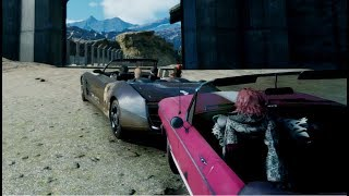 Download Final Fantasy XV When Noctis wins a race against Ardyn Video