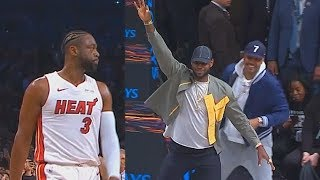 Download Dwyane Wade Last NBA Game Makes LeBron James, Carmelo, & Chris Paul Go Crazy In Final Minutes Video