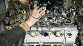 Download Toyota Lexus Engine 1MZ 2MZ 3MZ замена свечей прокладок клапанных крышек Video