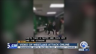 Download VIDEO: Cell phone video appears to show fight leading up to assault at Westlake High School Video