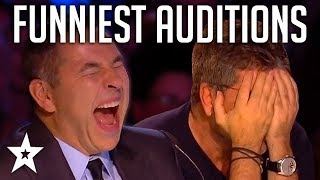 Download TOP 10 FUNNIEST Auditions And Moments EVER On Britain's Got Talent! | Got Talent Global Video