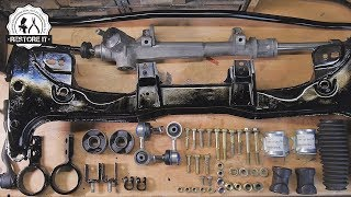 Download Front Subframe & Steering Rack Restoration | BMW E30 325i Sport Restoration S1 E2 Video