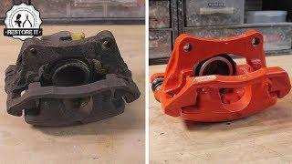 Download Rusty BMW E30 325i Brake Caliper Restoration Video
