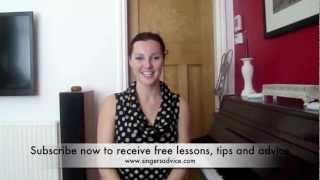 Download Head Voice Vocal Technique - Sarah Brickel Singers Advice Video