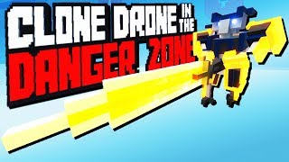 Download Crazy Greatsword Challenge! - Clone Drone in the Danger Zone Gameplay Video