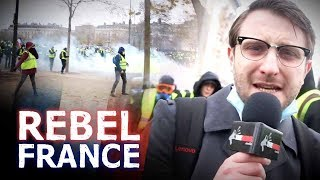 Download Raw! BEST Paris riot video: police vs protesters | Jack Buckby Video