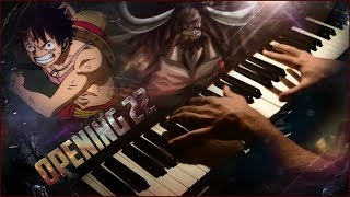 Download One Piece - Opening 22 『 Over The Top』 (Wano Arc)   (Piano Cover + SHEET MUSIC) Video