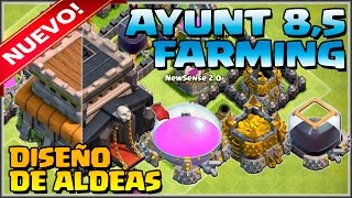 Download DISEÑO FARMING AYUNT 8,5 PARA LA NUEVA ACTUALIZACION - CONSEJOS - Clash of Clans - Español - CoC Video