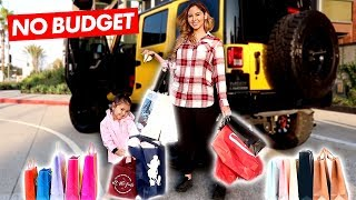 Download THE GIRLS DO THE NO BUDGET SHOPPING CHALLENGE!!! Video