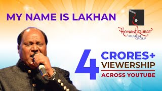 Download My Name Is Lakhan Ram Lakhan by Mohammad Aziz bollywood live music concert Hemantkumar Musical Group Video