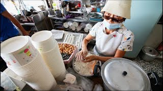 Download Taiwanese Breakfast Street Food Tour | EXTREMELY Unusual Almond Egg Tea - STREET FOOD IN TAIWAN Video