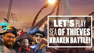 Download Let's Play Sea of Thieves: KRAKEN OR KRAK-CAN'T? - Sea of Thieves Kraken Gameplay! Video