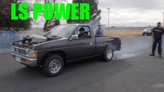 Download V8 Swapped Nissan D21 Truck Video