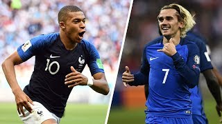 Download 9 Buts MAGIQUES de l'Équipe de France en 2017/2018 ! Video