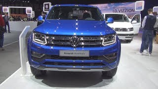 Download Volkswagen Amarok Aventura 4MOTION 3.0 V6 TDI 258 hp (2018) Exterior and Interior Video
