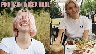Download GOING TO IKEA + IKEA HAUL & DYING MY HAIR PINK // June Vlog Video