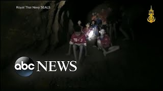 Download Boys' soccer team and coach found alive in Thailand cave Video