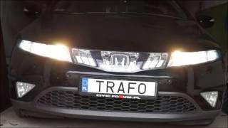Download TRAFO: Światła do jazdy dziennej (DRL) - Honda Civic 5D 8 gen. (UFO) Video