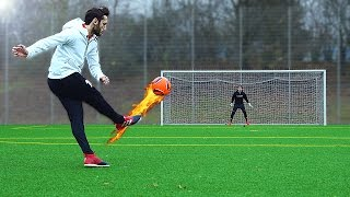 Download freekickerz vs Hakan Calhanoglu - Ultimate Free Kick Challenge Video