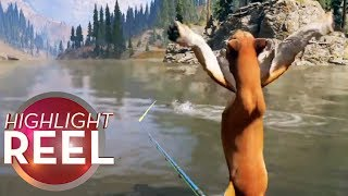Download Highlight Reel #387 - Far Cry 5 Cougar Waves To Fish Video
