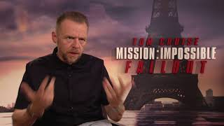 Download MISSION IMPOSSIBLE 6 Fallout Simon Pegg Interview Video